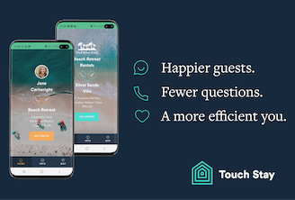 Touch Stay Footer Banner
